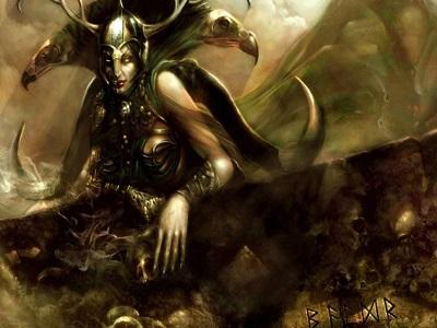 богиня Хель