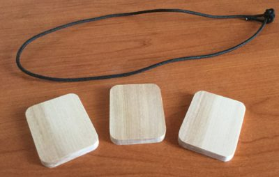 заготовки для талисмана из березы