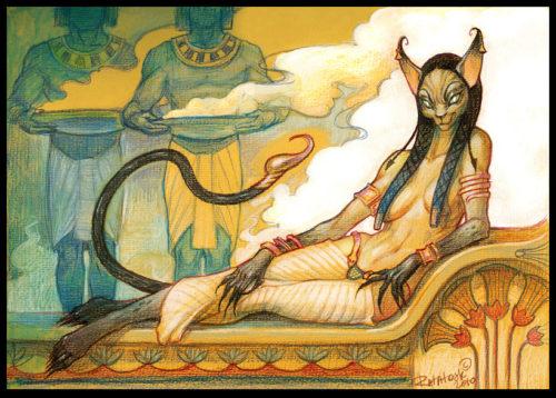 Богиня Баст
