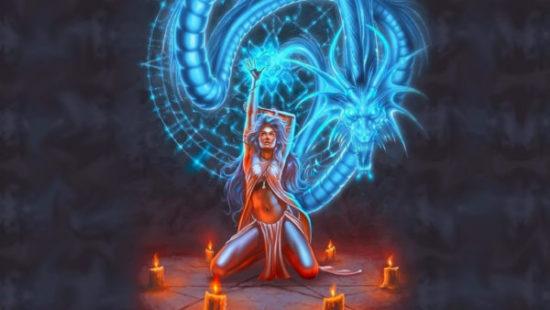 женщина с драконом