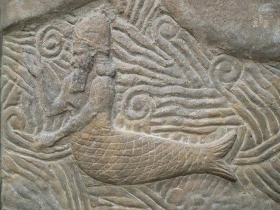 Шумерский бог