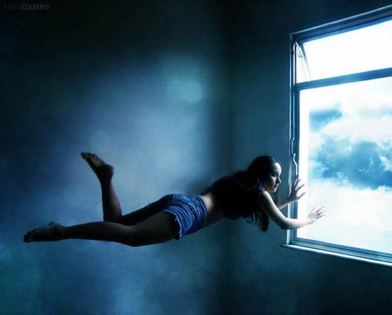 вылет в окно во сне