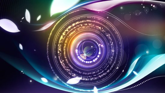 фотоаппарат в виде глаза